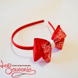 Hoop Red Bow PO-1059