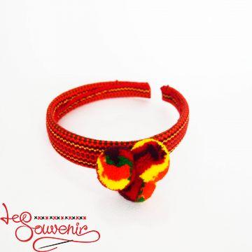 Orange Woven Hoop PO-1076