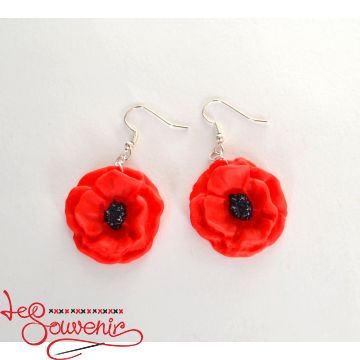 Earrings Poppies PS-1003