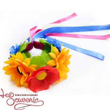 Веночек Полевые цветы PV-1004