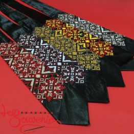 Embroidered necktie VK-1001