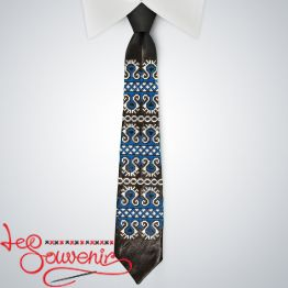 Embroidered necktie VK-1003