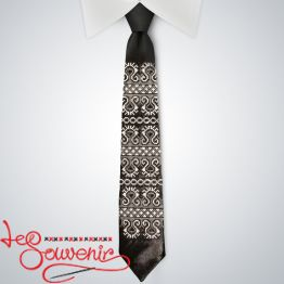 Embroidered necktie VK-1004