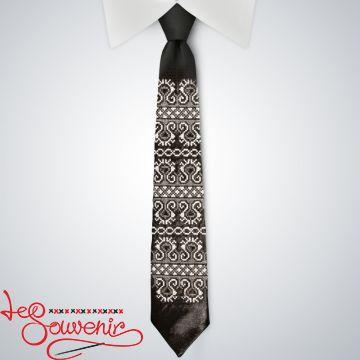 Embroidered necktie VK-1004