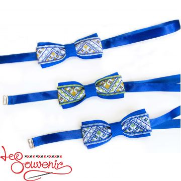 Embroidered Blue Butterfly VM-1026