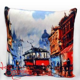 Pillow Old Tram SPI-1015