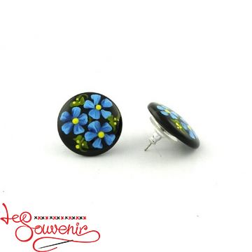 Earrings Petrykivka PUN-1006