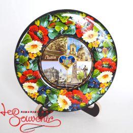 Тарелка Львов памятка KRT-1003