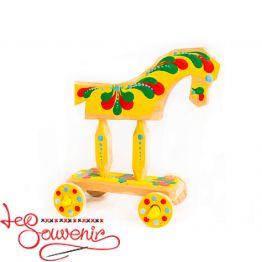 Іграшка рухома Коник на колесах SID-1006