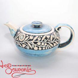 Чайник блакитний SCC-1001