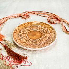 Тарелочка оранжевая SCC-1027