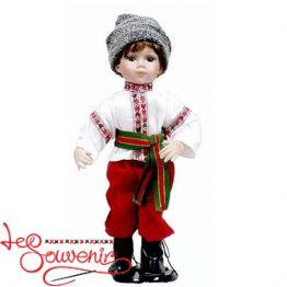 Кукла фарфоровая Украинец ULL-1004