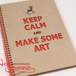 Альбом Keep Calm and Make Some Art SZD-1010