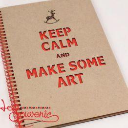 Album Keep Calm and Make Some Art SZD-1010