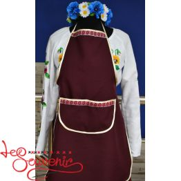 Embroidered Apron IN-1014