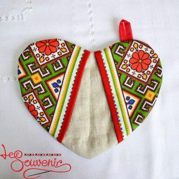 Embroidered Kitchen Potholder VKP-1005