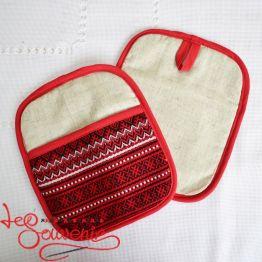 Embroidered Kitchen Potholder VKP-1006