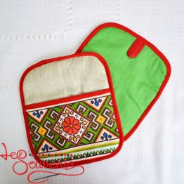 Embroidered Kitchen Potholder VKP-1007