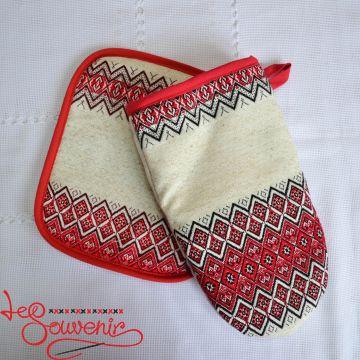 Набор перчатка и прихватка VKP-1013