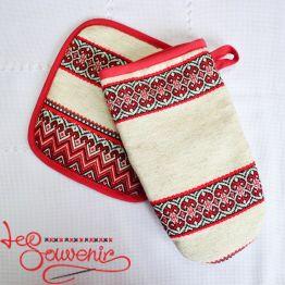 Набор перчатка и прихватка VKP-1016