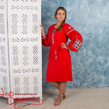Embroidered Dress Miss with Ornament VSU-1006
