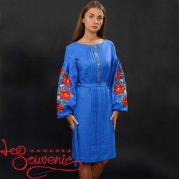 Вишита сукня Чарівні маки VSU-1007