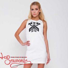 Платье белое VSU-1012