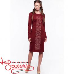 Embroidered Dress Zlata VSU-1014