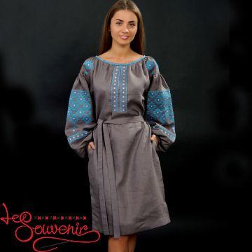 Вышитое платье Женская страсть VSU-1017