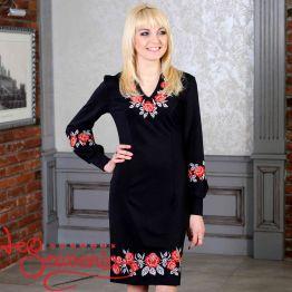 Вишита сукня Сутінкове намисто VSU-1030