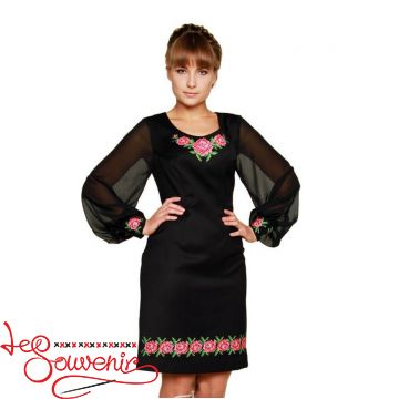 Embroidered Dress Melania VSU-1039