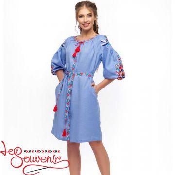 Вышитое платье Сона VSU-1040