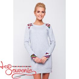 Dress-tunic Gray VSU-1041