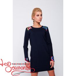 Dress-tunic Black VSU-1043