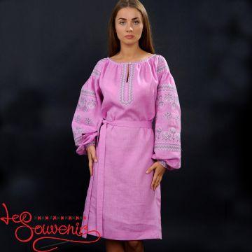 Вышитое платье Оленка VSU-1053