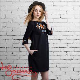 Платье Леля черное VSU-1060