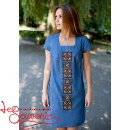 Сукня Орнамент на джинсі VSU-1083