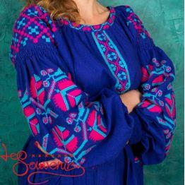 Embroidered Dress VSU-1088