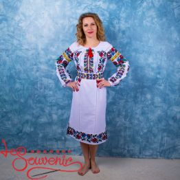 Embroidered Dress Mallow VSU-1094