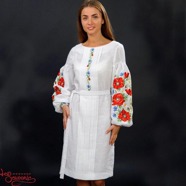 Вишита сукня Чарівні маки VSU-1102 5d877e912067d