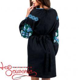 Платье льняное Разноцветное VSU-1105