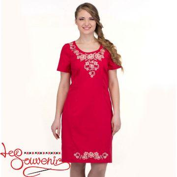 Вишита сукня Ніжність троянди VSU-1121