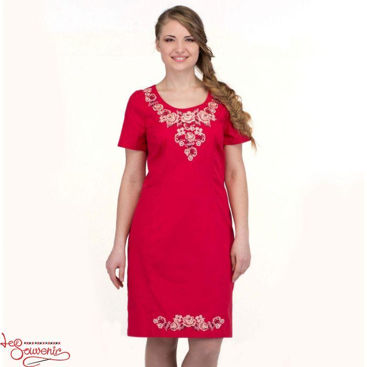 Вишита сукня Ніжність троянди VSU-1121 88daa84068683