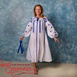 Вишита лляна сукня VSU-1123