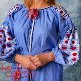 Вишита лляна сукня VSU-1125