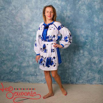 Вишита лляна сукня VSU-1128