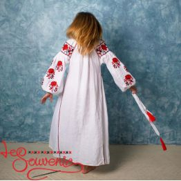 Вишита лляна сукня VSU-1129