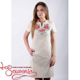 Платье Розы розовые  VSU-1139