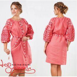 Вышитое платье Лучезара VSU-1146