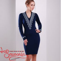 Embroidered Dress Ivanna VSU-1148